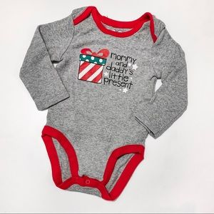 Children's Place Holiday Onsie (3-6 months)